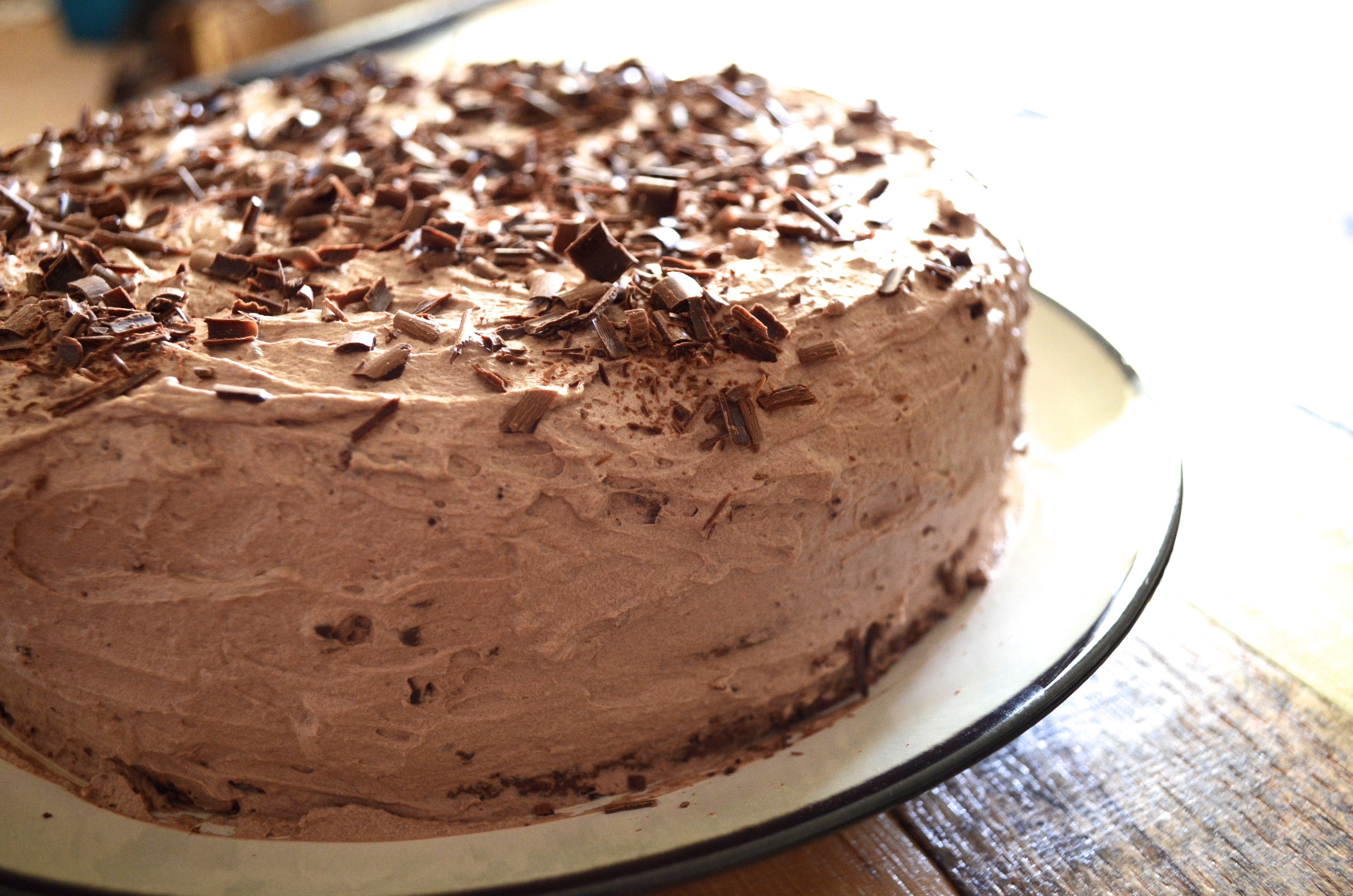 Lighter-than-air Chocolate Cake Recipe — Dishmaps